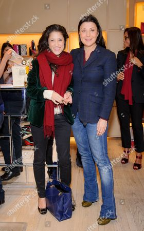 Fatima Bhutto and Allegra Donn