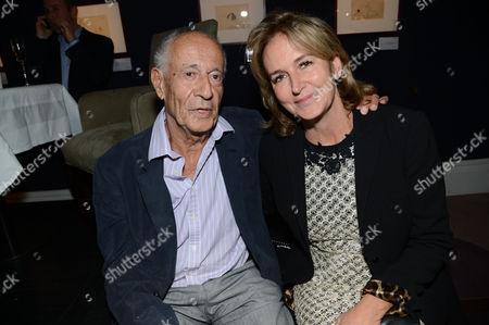 Tom Maschler and Caroline Michel