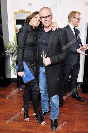 Suzanne Pirret and Heston Blumenthal