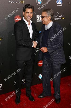 John Stamos and Robert Evans