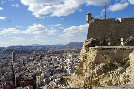 Castillo Santa Barbara castle, Alicante, Costa Blanca, Spain