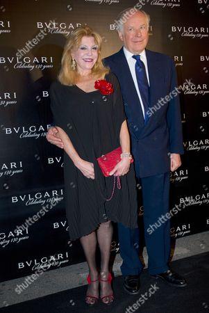 Carmen Von Thyssen-Bornemisza and Nicola Bulgari