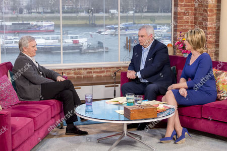 Stock Photo of Denis Lawson with Eamonn Holmes and Ruth Langsford