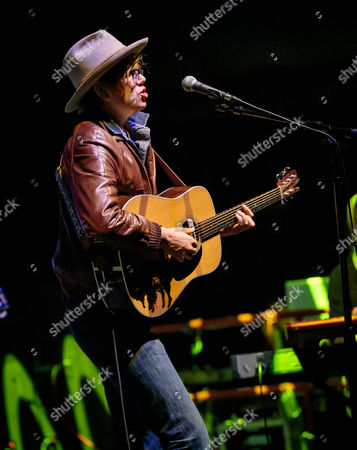 Editorial picture of Brett Dennen in concert at the Brooklyn Bowl, Las Vegas, America - 19 Mar 2014
