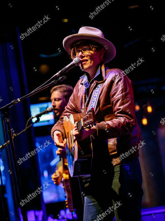 Editorial image of Brett Dennen in concert at the Brooklyn Bowl, Las Vegas, America - 19 Mar 2014