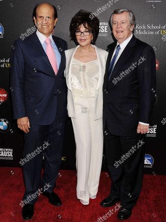 Stock Photo of Michael Milken ; Carole Bayer Sager ; Bob Daly
