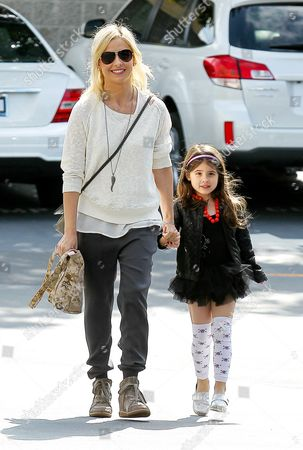 Sarah Michelle Gellar with daughter Charlotte Grace Prinze