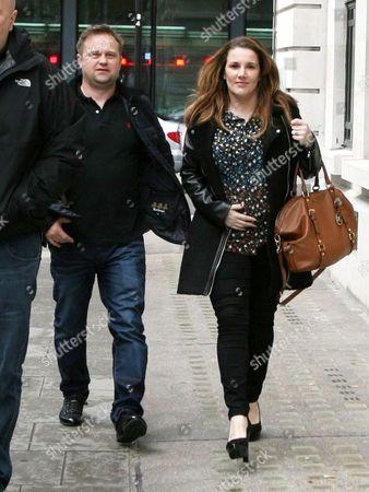 Sam Bailey with her husband Craig Pearson
