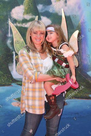 Jennifer Tisdale and  Mikayla Dawn McChesnie