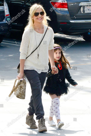 Stock Photo of Sarah Michelle Gellar and Charlotte Grace Prinze