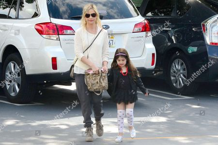 Editorial image of Sarah Michelle Gellar takes her daughter to Ballet Class in Sherman Oaks, Los Angeles, America - 22 Mar 2014