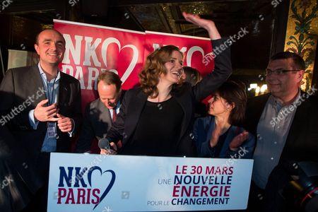 Stock Picture of Jean-Didier Berthault, Philippe Goujon, Nathalie Kosciusko-Morizet and Jean-Francois Lamour.