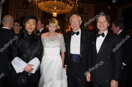 Editorial picture of 110th Explorers Club Annual Dinner at the Waldorf Astoria, New-York, America - 15 Mar 2014
