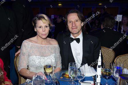 Kitin Munoz and his wife Princess Kalina of Bulgaria