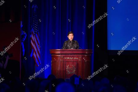 Editorial image of 110th Explorers Club Annual Dinner at the Waldorf Astoria, New-York, America - 15 Mar 2014