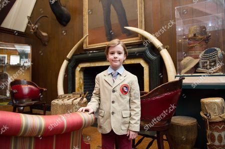 Editorial picture of Prince Simeon Hassan at The Explorers Club, New York, America - 20 Mar 2014