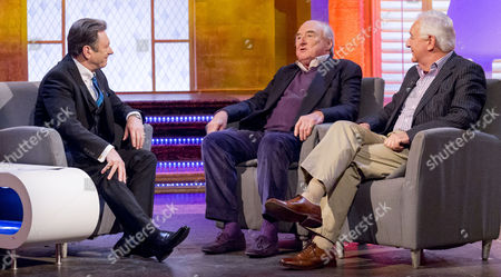 Alan Titchmarsh, Henry Blofeld and Peter Baxter
