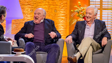 Henry Blofeld and Peter Baxter