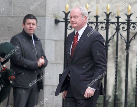 Stock Picture of Deputy First Minister Martin McGuinness