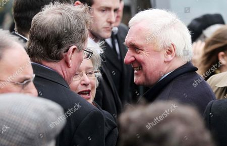 Editorial image of Funeral of Lord Ballyedmond, St Patrick's and St Colman's Cathedral in Newry, Northern Ireland, Britain - 24 Mar 2014