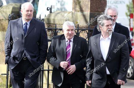 Editorial image of Funeral of Jimmy Ellis, St Mark's Church, Belfast, Northern Ireland, Britain - 21 Mar 2014