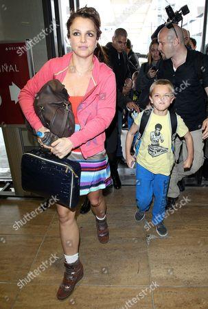 Stock Image of Britney Spears and son Jayden Federline