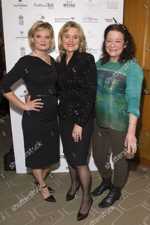 Martha Plimpton, Sinead Cusack and Clare Higgins