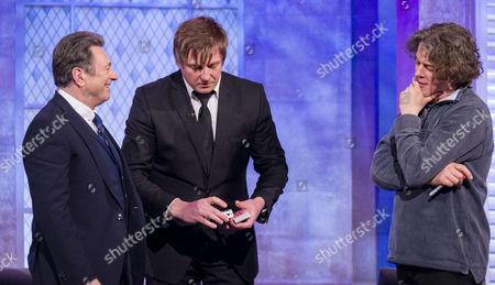 Alan Titchmarsh, Jamie Allan and Alan Davies.
