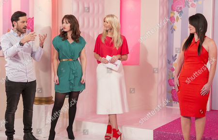Leo Bancroft, Hayley Sparkes, Lisa Fitzpatrick with Tracy Heath