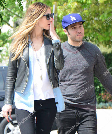 Editorial image of Pete Wentz and son Bronx with Megan Camper out and about, Los Angeles, America - 24 Mar 2014