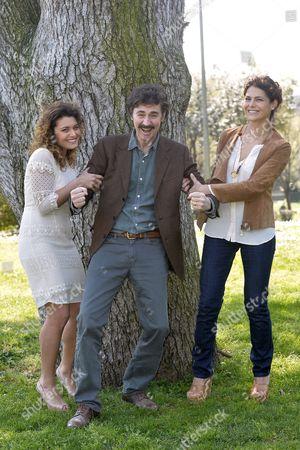 Stock Image of Laura Licchetta, Edoardo Winspeare, Celeste Casciaro