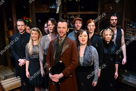 Ben Lewis, Jeremy Legat, Tara Hugo, Julie Atherton and other members of the cast