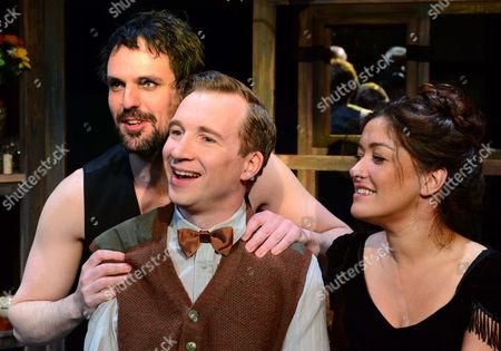 Ben Lewis, Jeremy Legat, Julie Atherton