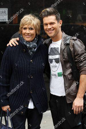 Stock Image of Diana Nyad and Henry Byalikov