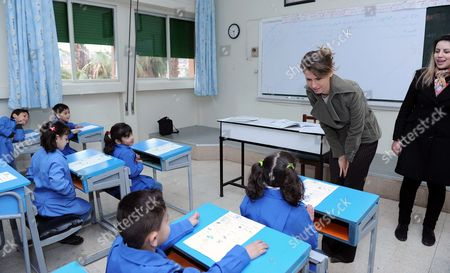 Syria's first Lady Asma al Assad