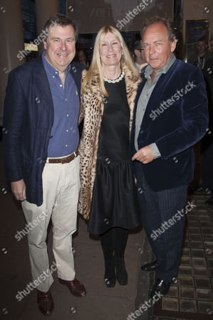 Stock Picture of Edward William Fitzalan-Howard, Karina Frost and Patrick Ryecart (Producer)