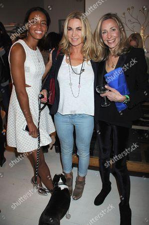 Stock Photo of Phoebe Pring, Meg Mathews and Lucy Olivier