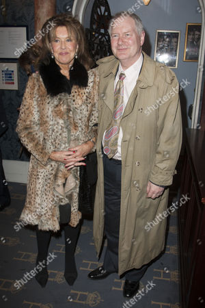 Stock Image of Noreen Taylor and Roy Greenslade