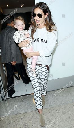 Lily Aldridge and Dixie Pearl Followill