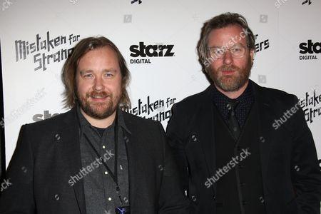 Tom Berninger and Matt Berninger