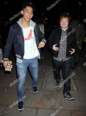 Rizzlr Kicks and Ed Sheeran