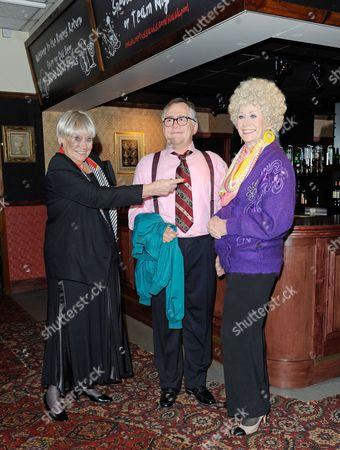 Editorial image of Coronation Street Jack and Vera Duckworth wax figures revealed, Madame Tussauds, Blackpool, Britain - 26 Mar 2014