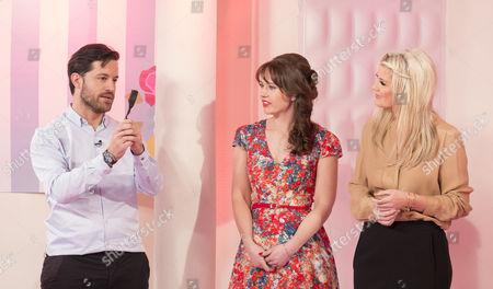 Stock Photo of Leo Bancroft, Hayley Sparkes and Lisa Fitzpatrick