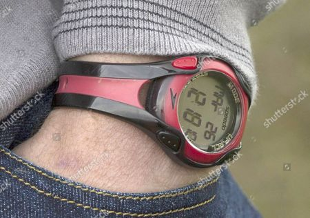 Speedo sports watch worn by Mike Tindall