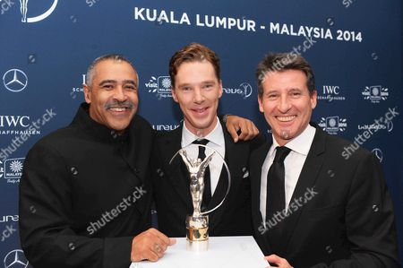 Daley Thompson, Benedict Cumberbatch, Lord Sebastian Coe