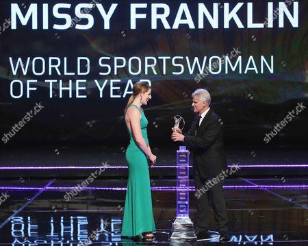 Missy Franklin, Mark Spitz