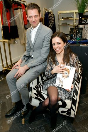 Editorial picture of The launch of the last issue of 'Herself' Magazine at the Amanda Wakeley Store, London, Britain - 26 Mar 2014