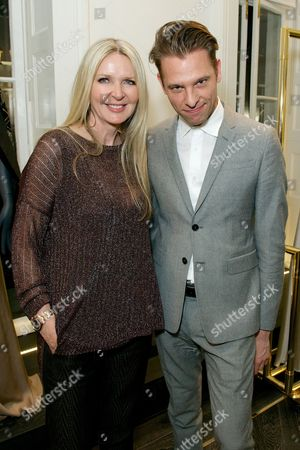Editorial photo of The launch of the last issue of 'Herself' Magazine at the Amanda Wakeley Store, London, Britain - 26 Mar 2014