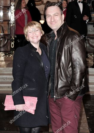 Joanna Page and James Thornton