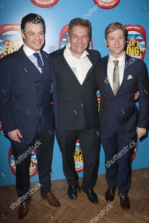 Simon Bailey, Richard Holloway and Billy Carter